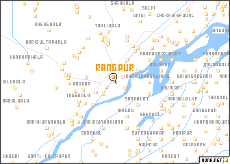 Rangpur Pakistan map nonanet