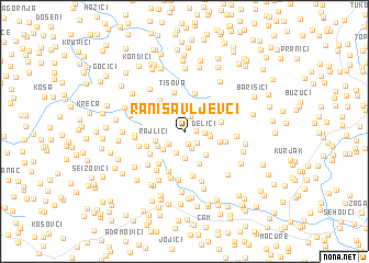 map of Ranisavljevći