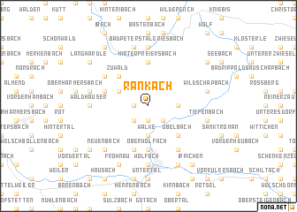 map of Rankach