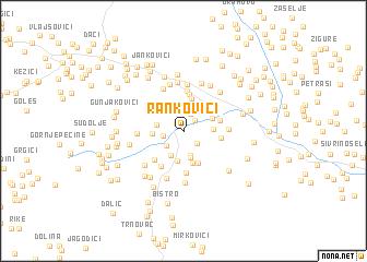 map of Rankovići