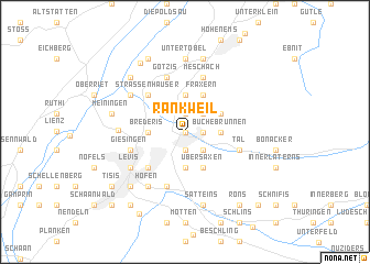 map of Rankweil