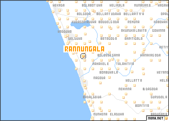 map of Rannungala