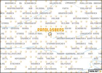 map of Ranoldsberg