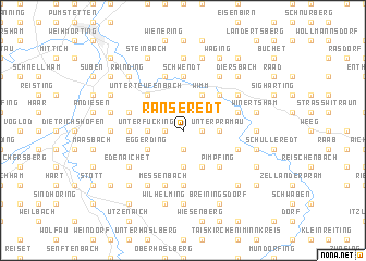 map of Ranseredt