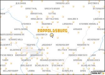 map of Räppoldsburg