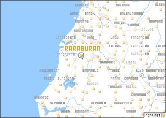 map of Raraburan