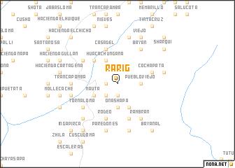 map of Rarig