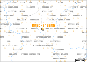map of Raschenberg