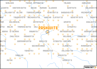 map of Rashovite