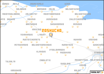 map of Rashucha