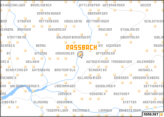 map of Raßbach
