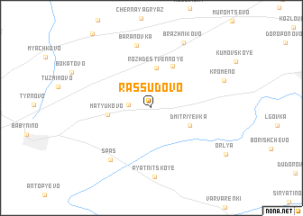 map of Rassudovo