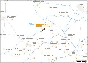 map of Rǝstǝmli