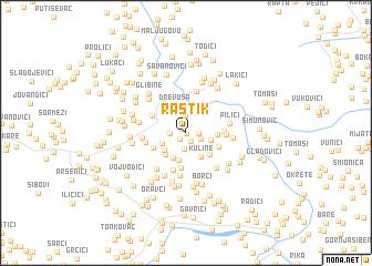 map of Rastik