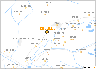 map of Rǝsullu