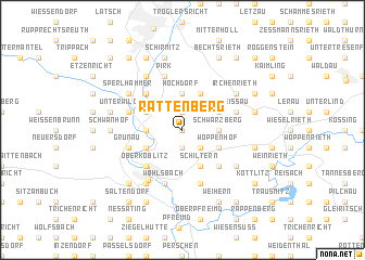 map of Rattenberg