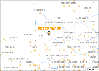 map of Ratzendorf