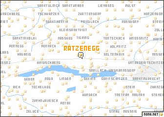 map of Ratzenegg