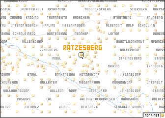 map of Ratzesberg