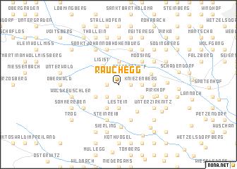 map of Rauchegg