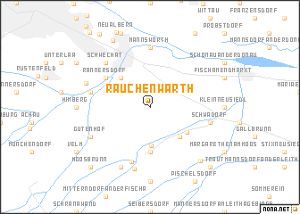 map of Rauchenwarth
