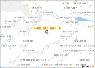 map of Rauchenwarth