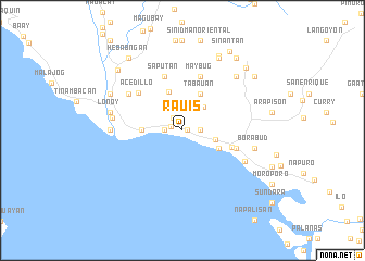 map of Rauis