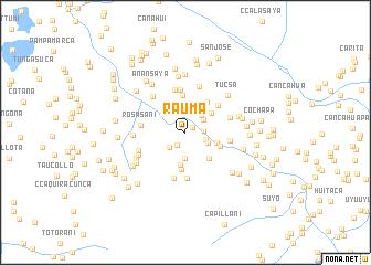 Rauma Peru map nonanet