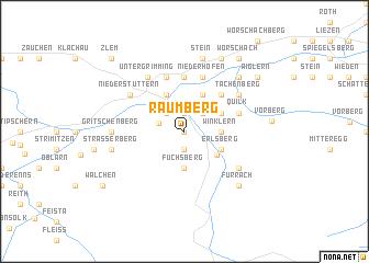 map of Raumberg