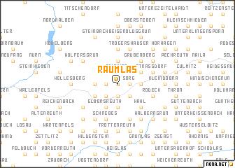 map of Räumlas