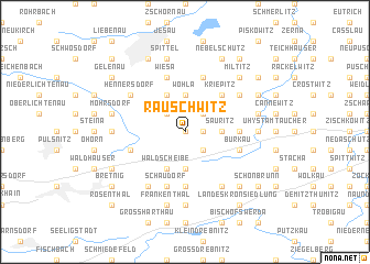 map of Rauschwitz