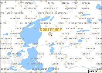 map of Rautenhof