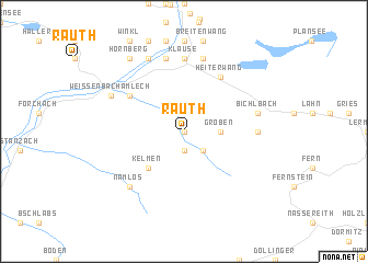 map of Rauth