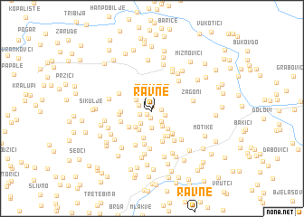 map of Ravne