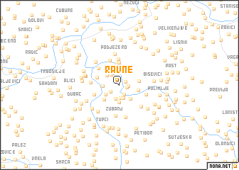map of Ravne