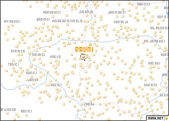 map of Ravni