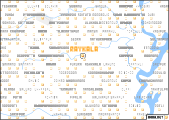 map of Rāykala