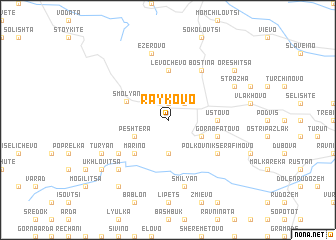 map of Raykovo