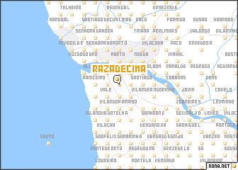 map of Raza de Cima