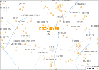 map of Razkū\