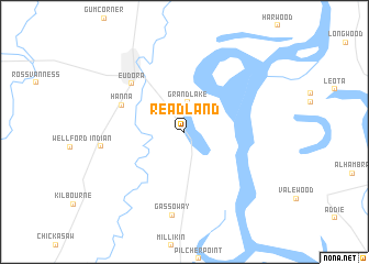 map of Readland