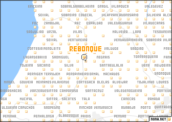 map of Rebonque