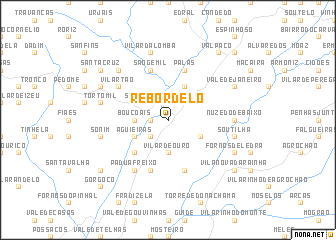 map of Rebordelo