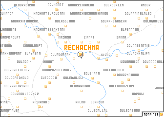 map of Rechachma