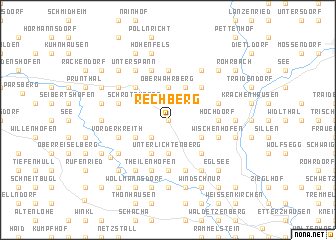 map of Rechberg