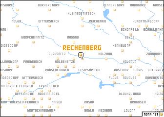 map of Rechenberg