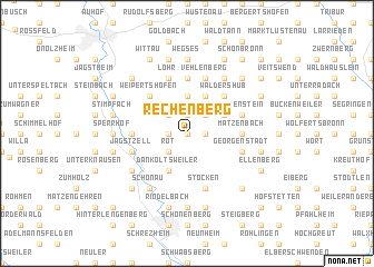 map of Rechenberg