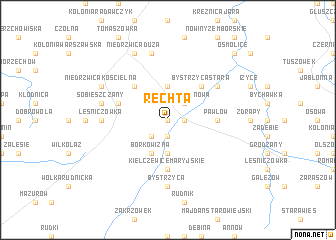 map of Rechta