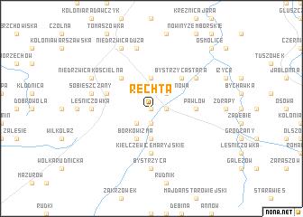 map of Rechta