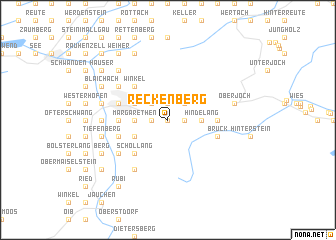 map of Reckenberg